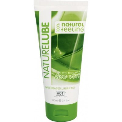 Гель-смазка Hot Glide naturlube с Алоэ Вера 100 мл