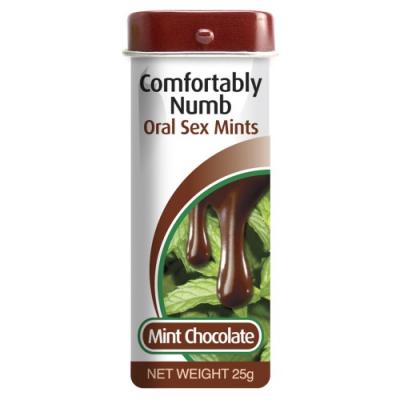 Леденцы для орального секса Comfortably Numb Oral Sex Mints 25 г
