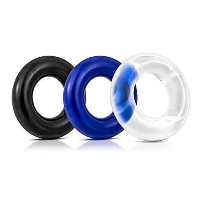 Набор эрекционных колец Donut Rings-3 pack
