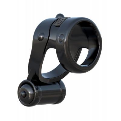 Двойное эрекционное колецо с вибрацией Fantasy C-Ringz Turbo Teazer
