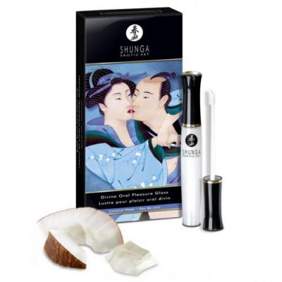 Блеск для губ Shunga Божественное удовольствие Кокос 10 мл