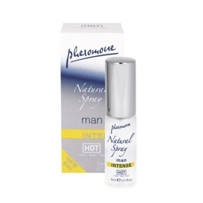 Духи для мужчин с феромонами Natural Spray Intense 5 мл