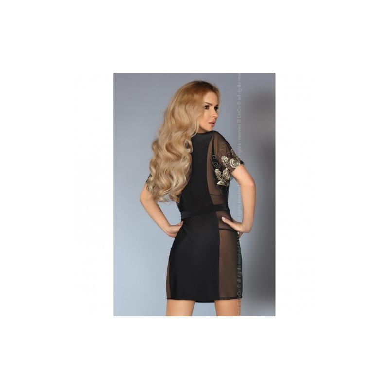 Черный халатик Amaretta L/XL